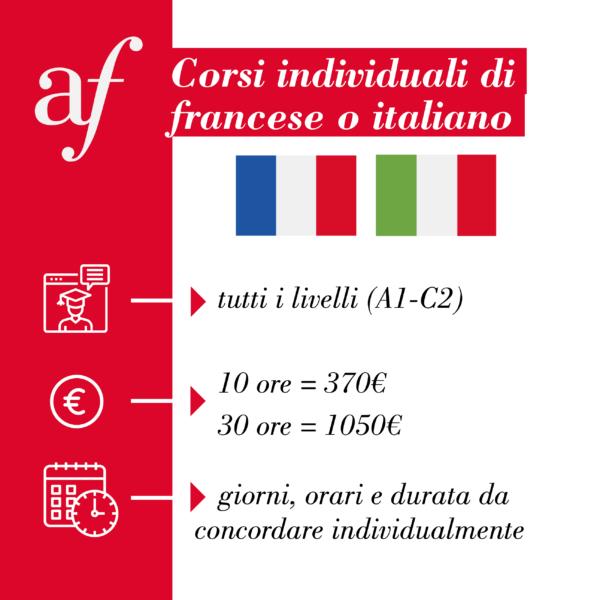 Corsi individuali alliance française venezia