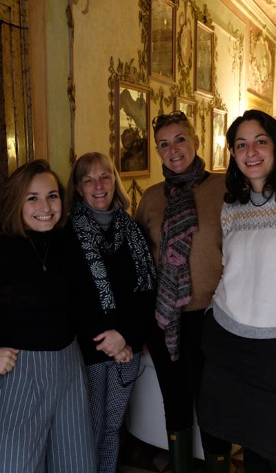 L'équipe de l'Alliance Française de Venise